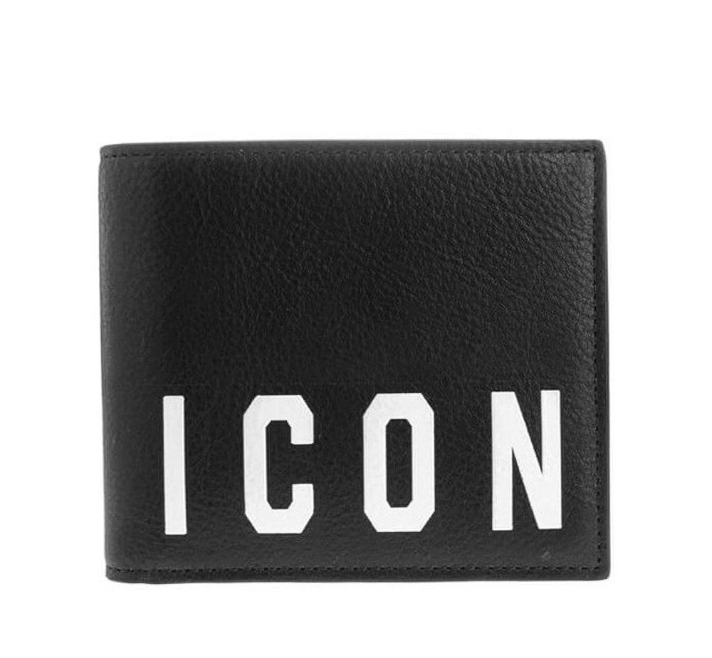 Icon Logo Bi-Fold Wallet